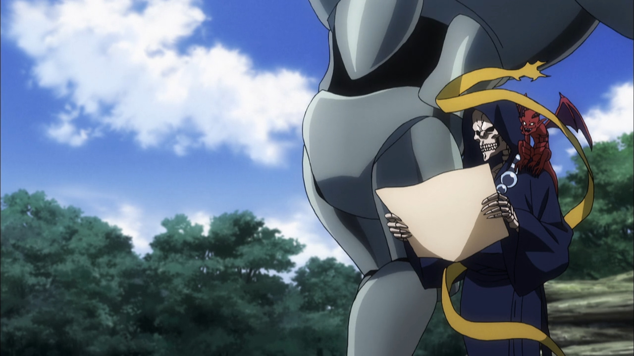 overlord ii t v  media review episode 1