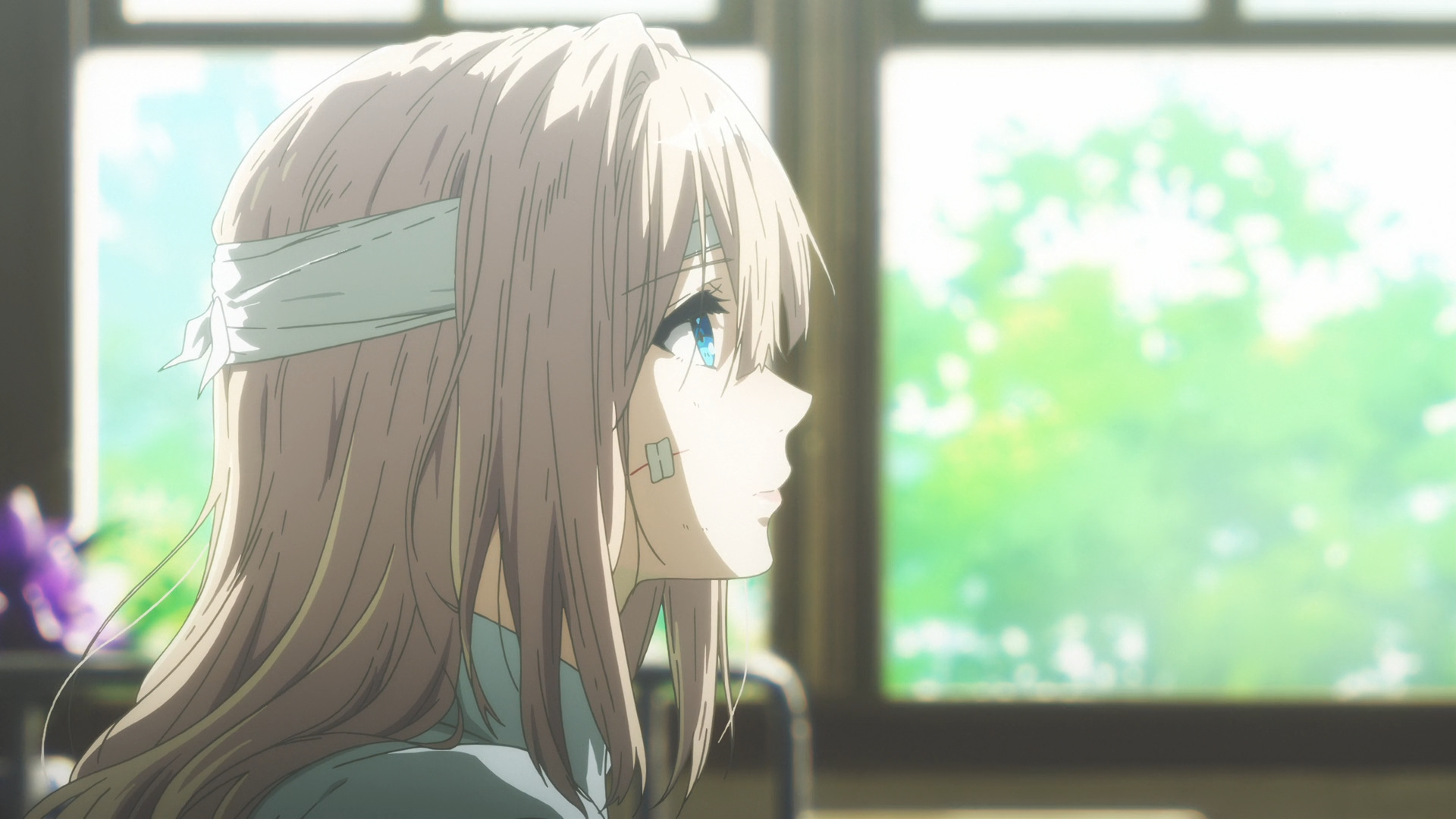 violet evergarden tv media review episode 1 anime solution