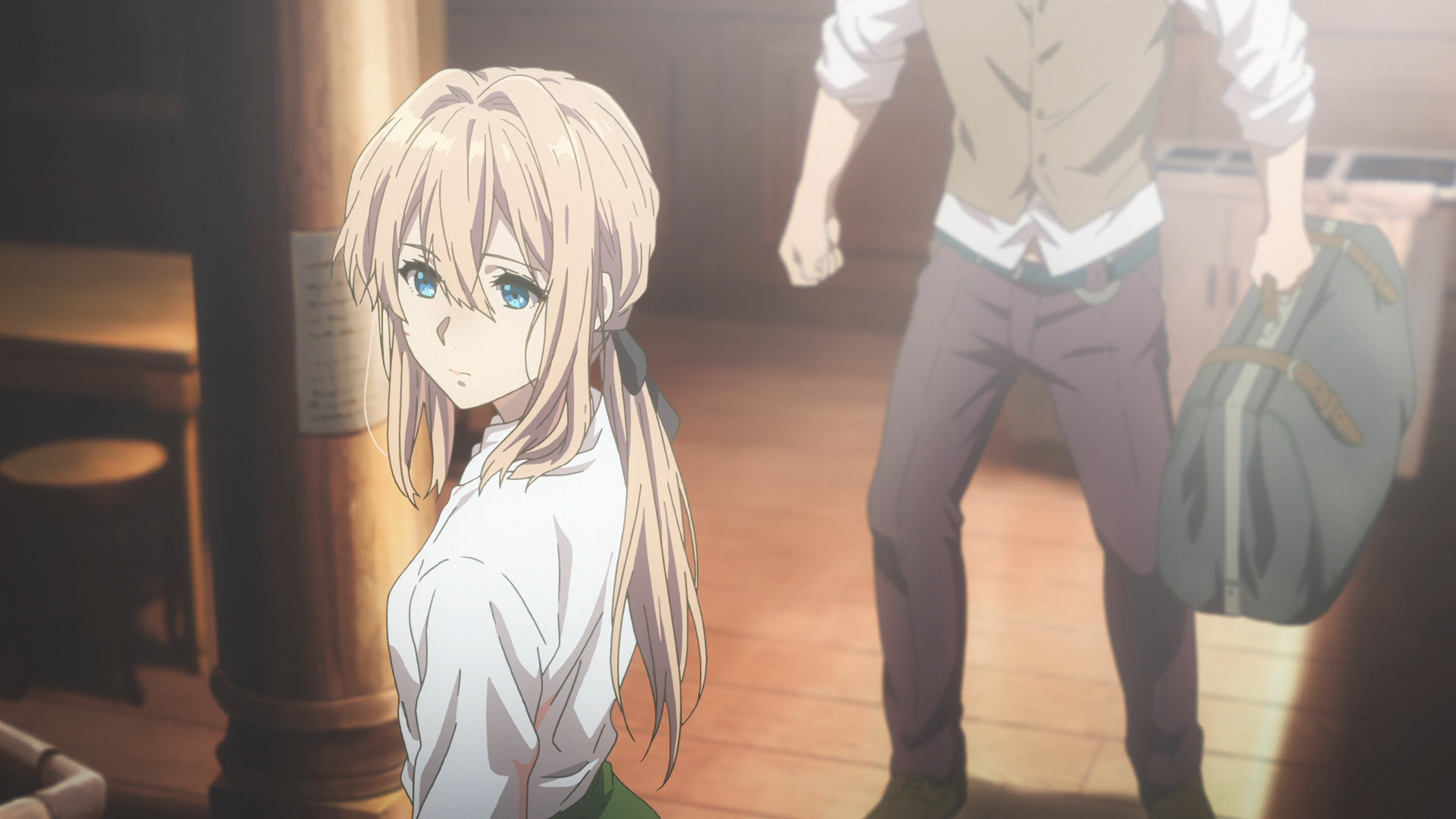 violet evergarden t v  media review episode 1