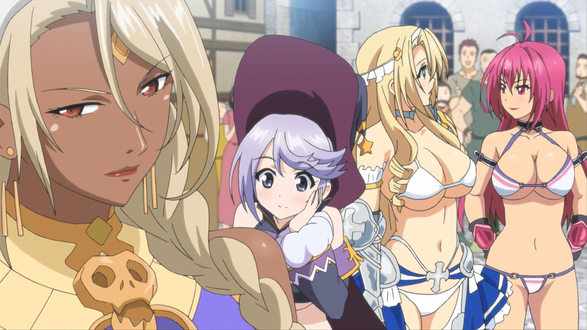 Bikini Warriors Blu-ray Media Review Episode 1 | Anime